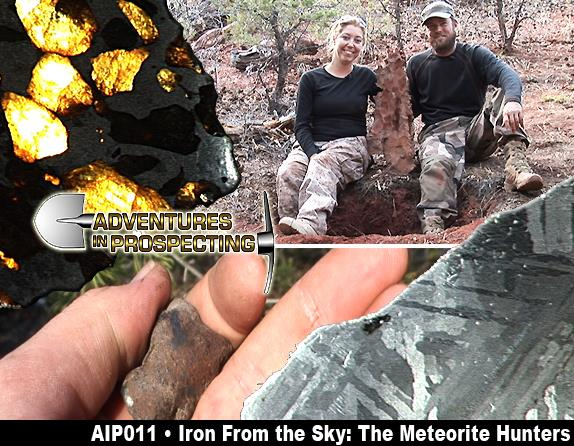 IRON FROM THE SKY; THE METERORITE HUNTERS DVD  - ROBERT WARD