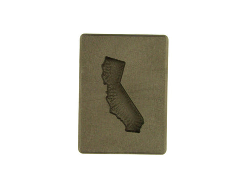 2 oz Califorina Shape Gold High Density Graphite Mold-USA MADE