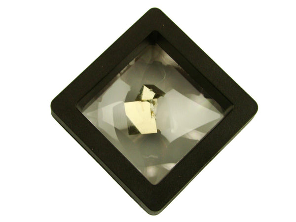 Navajun Spain Mine - Pyrite Cube Crystal With Display Case-#PC1