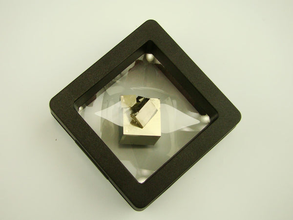 Navajun Spain Mine - Pyrite Cube Crystal With Display Case-#PC2