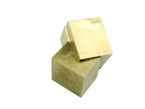 Navajun Spain Mine - Pyrite Cube Crystal With Display Case-#PC3