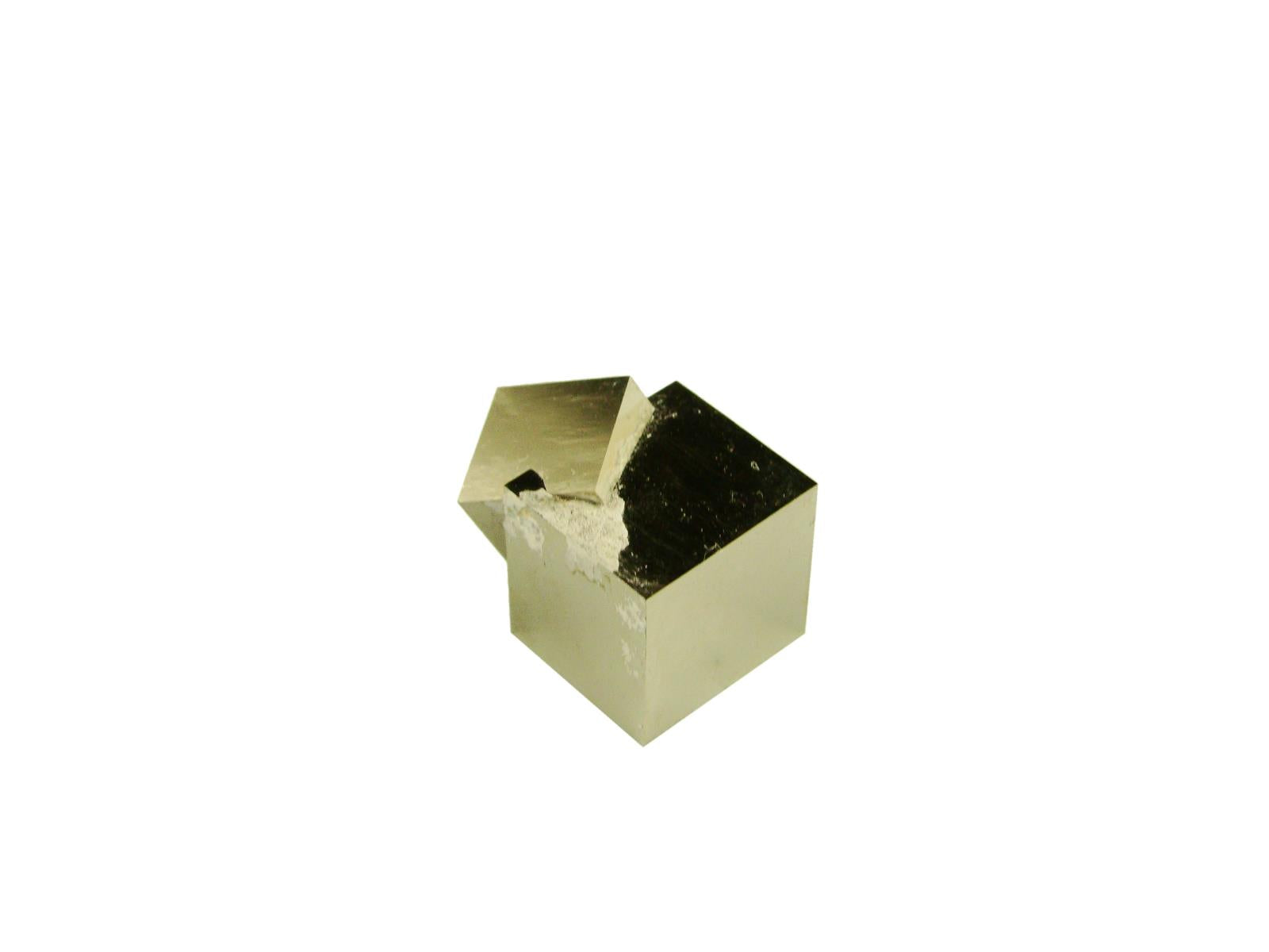Navajun Spain Mine - Pyrite Cube Crystal With Display Case-#PC6