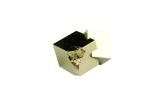 Navajun Spain Mine - Pyrite Cube Crystal With Display Case-#PC8
