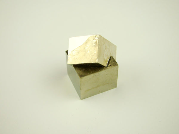 Navajun Spain Mine - Pyrite Cube Crystal With Display Case-#PC9