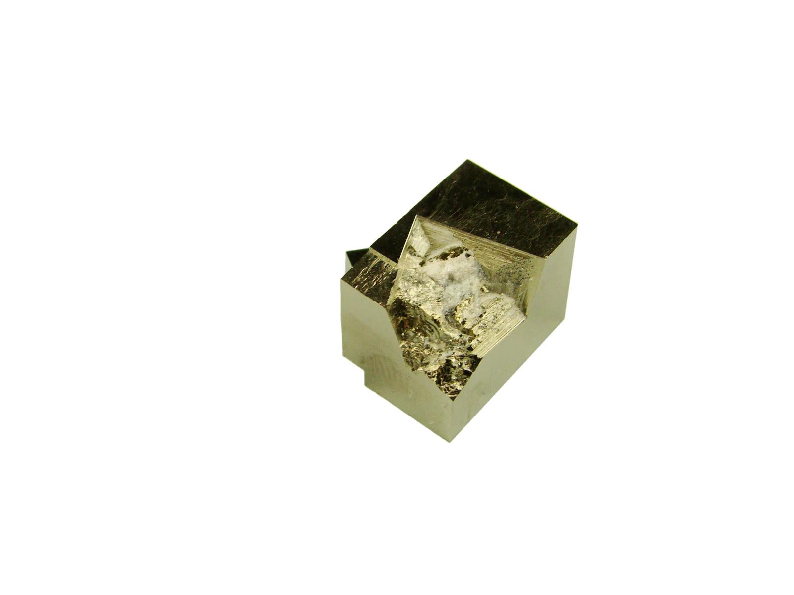 Navajun Spain Mine - Pyrite Cube Crystal With Display Case-#PC12