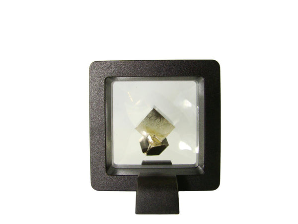 Navajun Spain Mine - Pyrite Cube Crystal With Display Case-#PC14