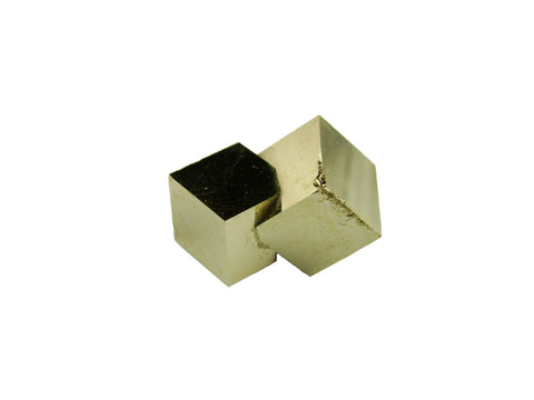 Navajun Spain Mine - Pyrite Cube Crystal With Display Case-#PC31