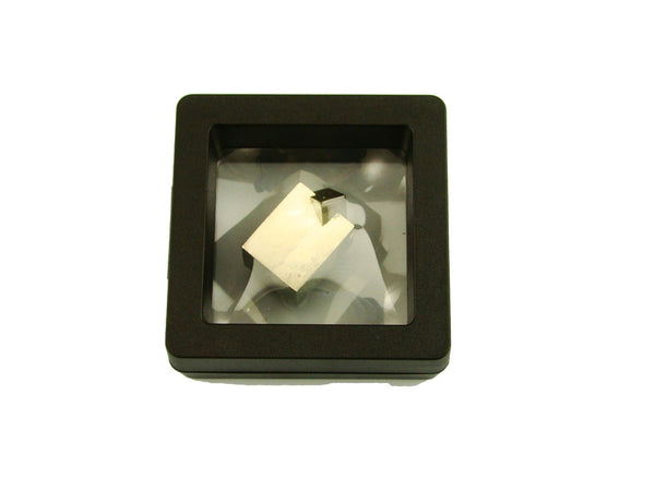 Navajun Spain Mine - Pyrite Cube Crystal With Display Case-#PC32