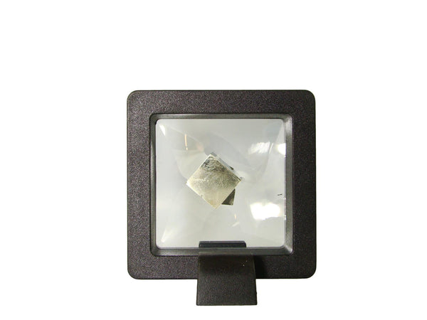 Navajun Spain Mine - Pyrite Cube Crystal With Display Case-#PC37