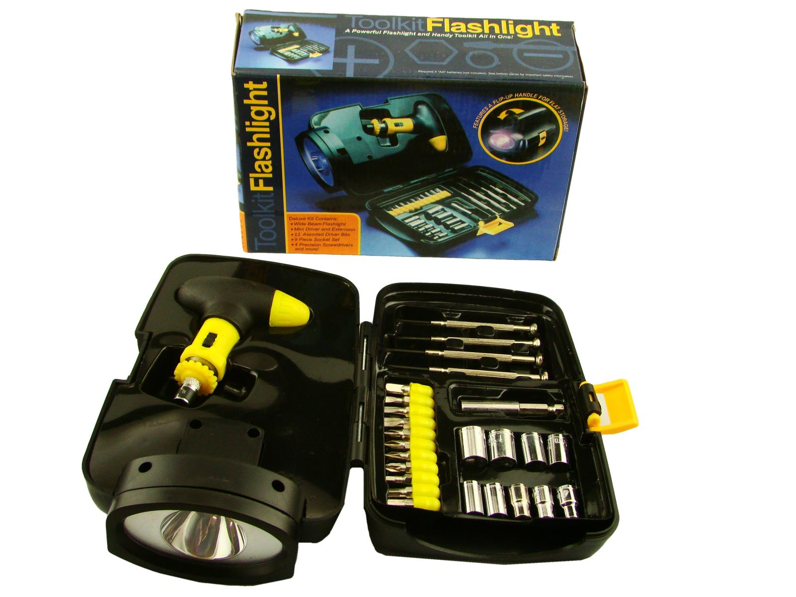 Toolkit with Built in Flashlight New old Stock