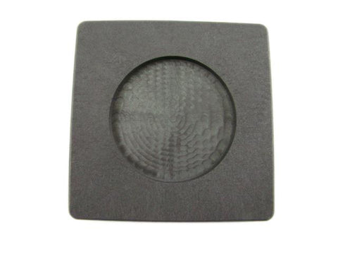 Silver 1 oz Round Coin Size Gold 2oz High Density Graphite Mold Bar