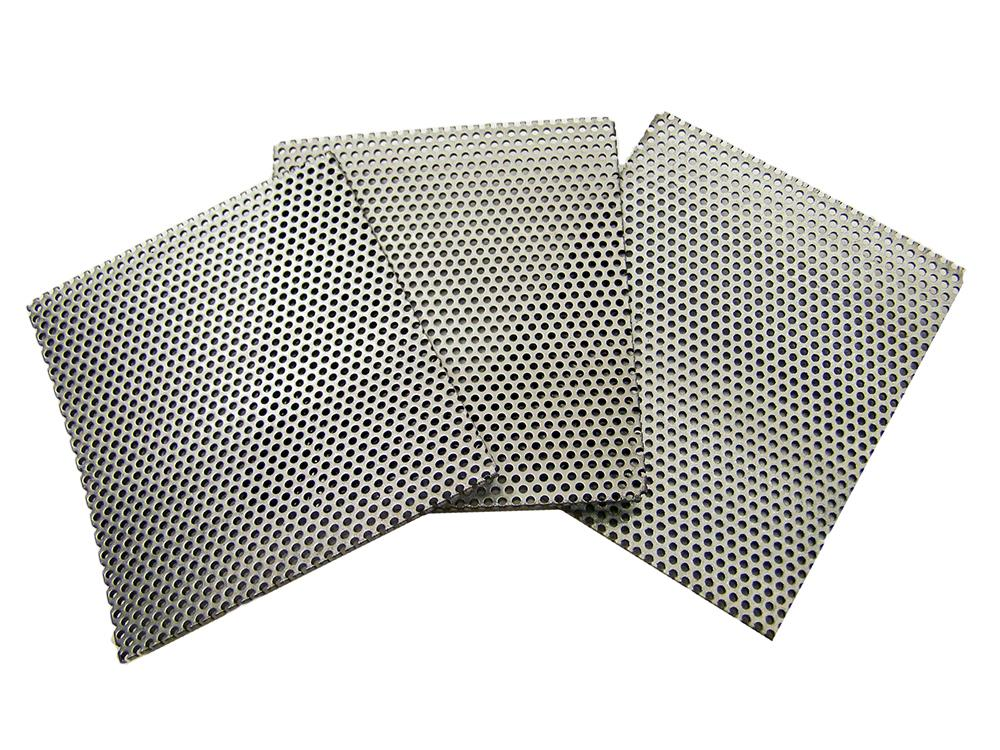 SUPER Heavy Duty Rock Crusher Replacement Screens - K&M Crushers Lot of 3