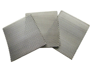 SUPER Heavy Duty Rock Crusher Replacement Screens - K&M Crushers Lot of 12