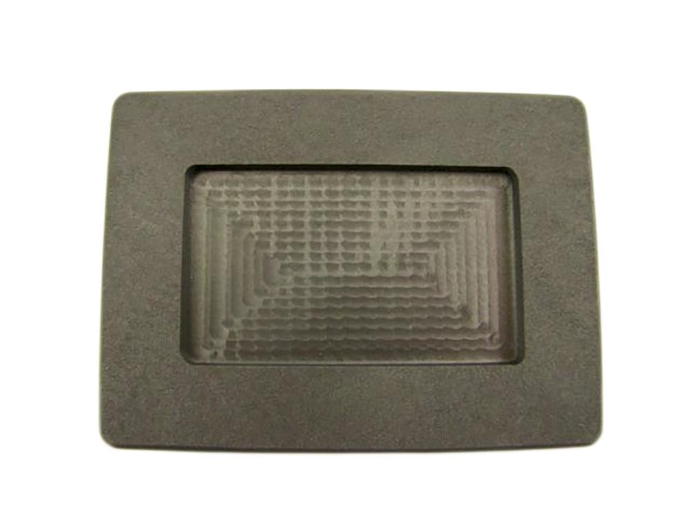 1 oz Silver Art Bar Size High Density Graphite Mold Bullion 2oz Gold