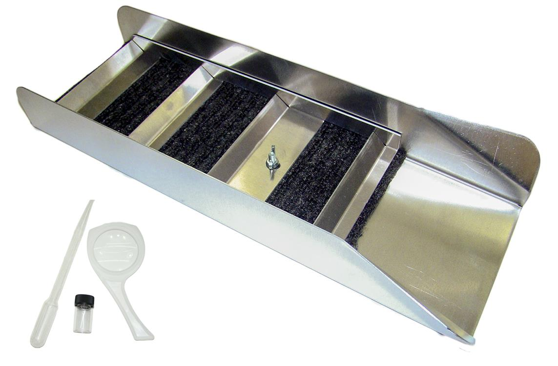"NEW BackPacking 18"" Long Aluminum Sluice Box - River - Creek - Gold Mining"