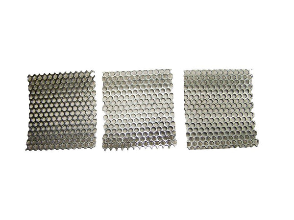 "Bigger Holes 3/16""-Rock Crusher Replacement Screens - K&M Krushers Lot of 3"