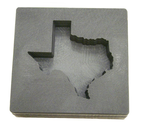 10oz Texas Gold Bar High Density Graphite Mold Copper & Silver 5 oz AG