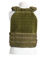 Green Tactical Weighted Plate Carrier