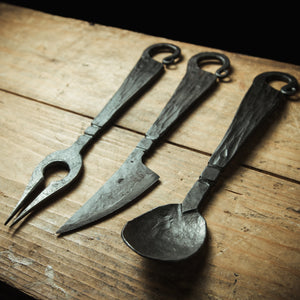 Forged cutlery set