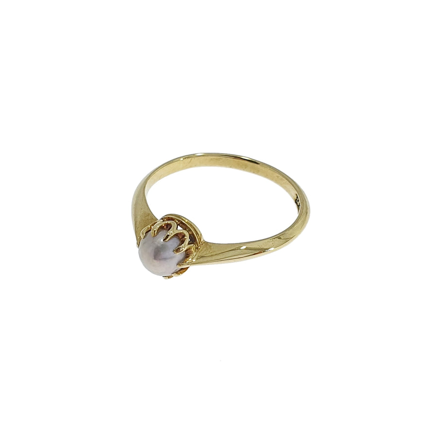 Antique 18ct Gold & Pearl Ring