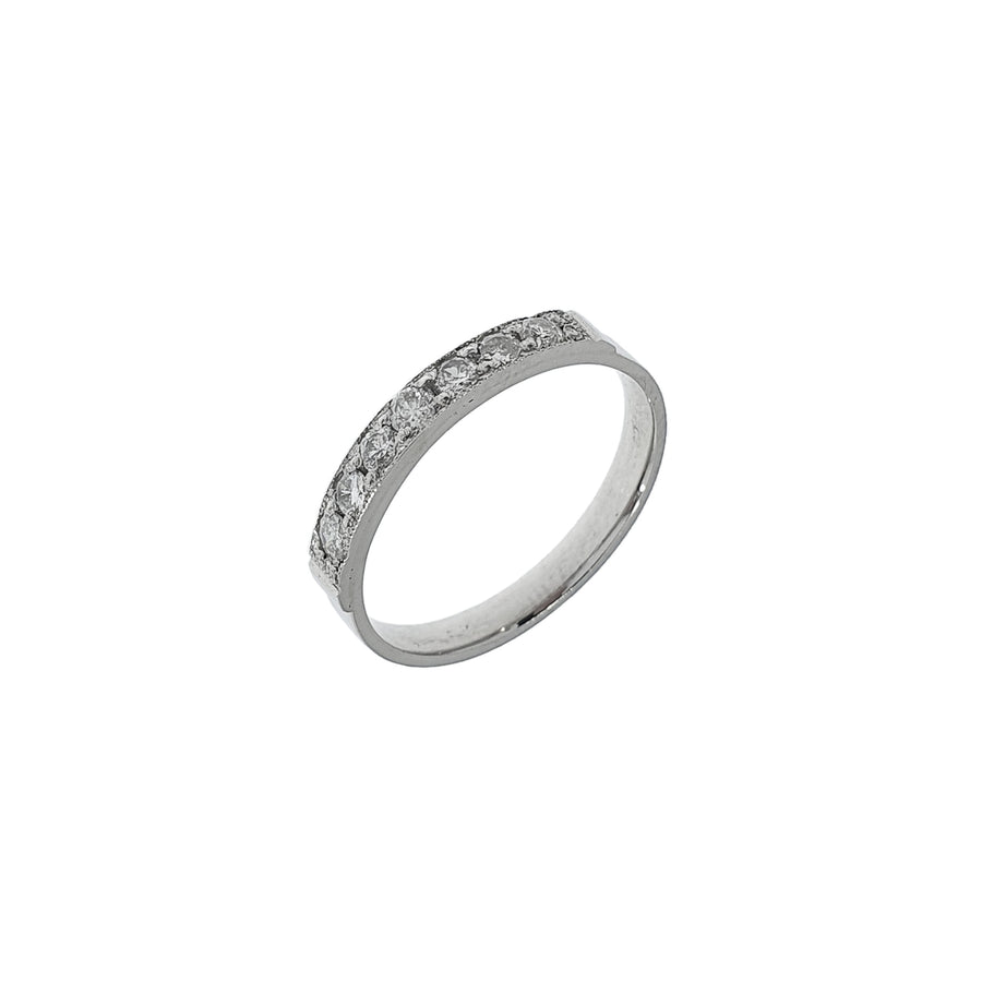 Old Cut Diamond Eternity Ring