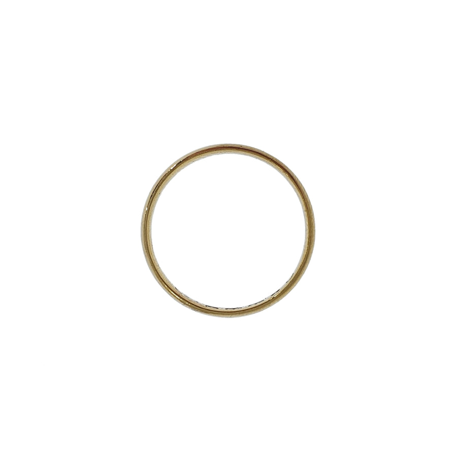 22ct Gold Antique Wedding Ring