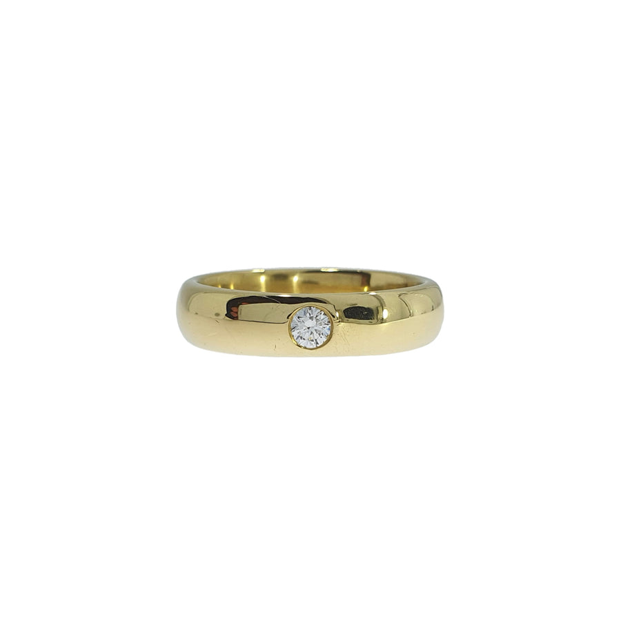 18ct Gold Diamond Set Wedding Band