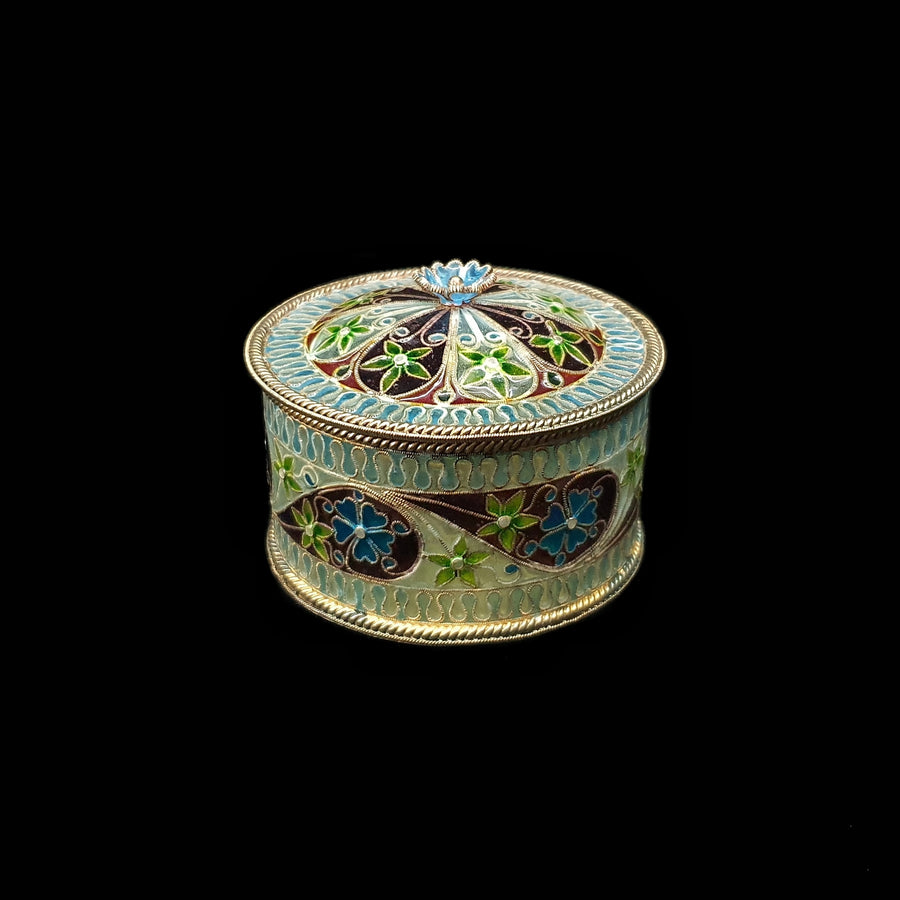 Plique-à-Jour Trinket Box