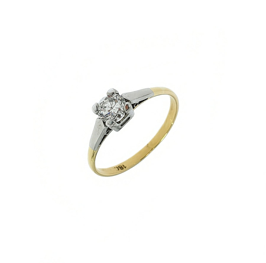 0.45ct Diamond Solitaire Ring