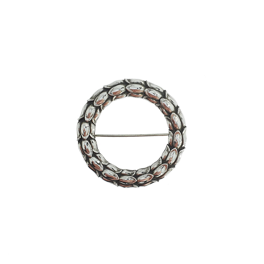 Georg Jensen Wreath Brooch #301