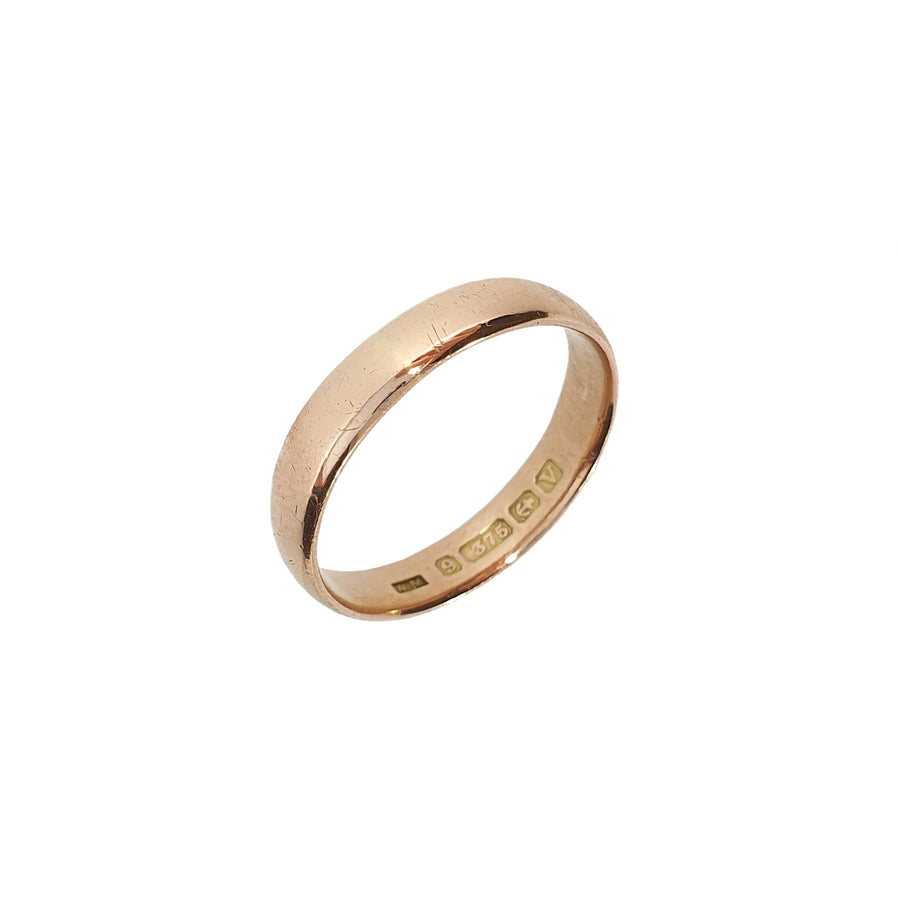 9ct Rose Gold Wedding Band