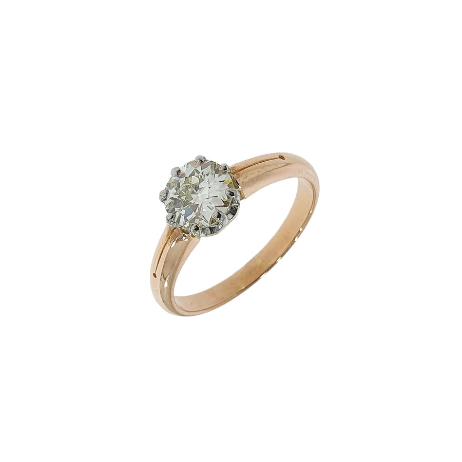 Antique Old Cut Diamond Solitaire Ring