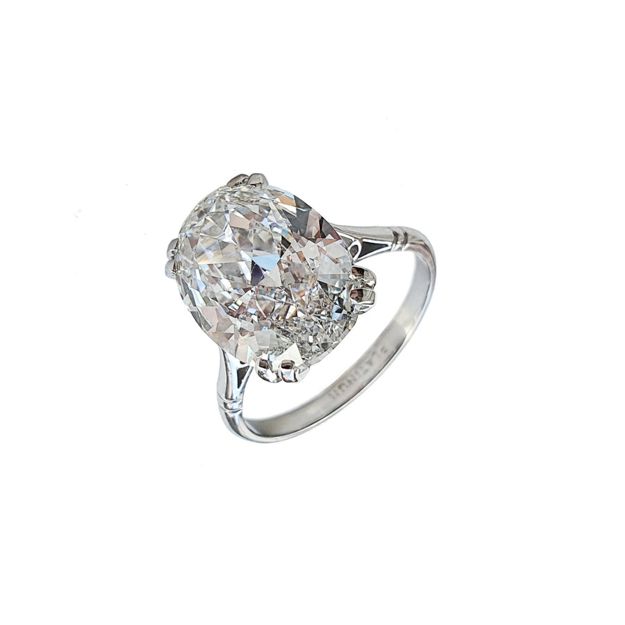 6.01ct Antique Diamond Solitaire Ring