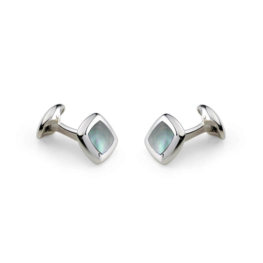 Grey Mother-of-Pearl Cufflinks