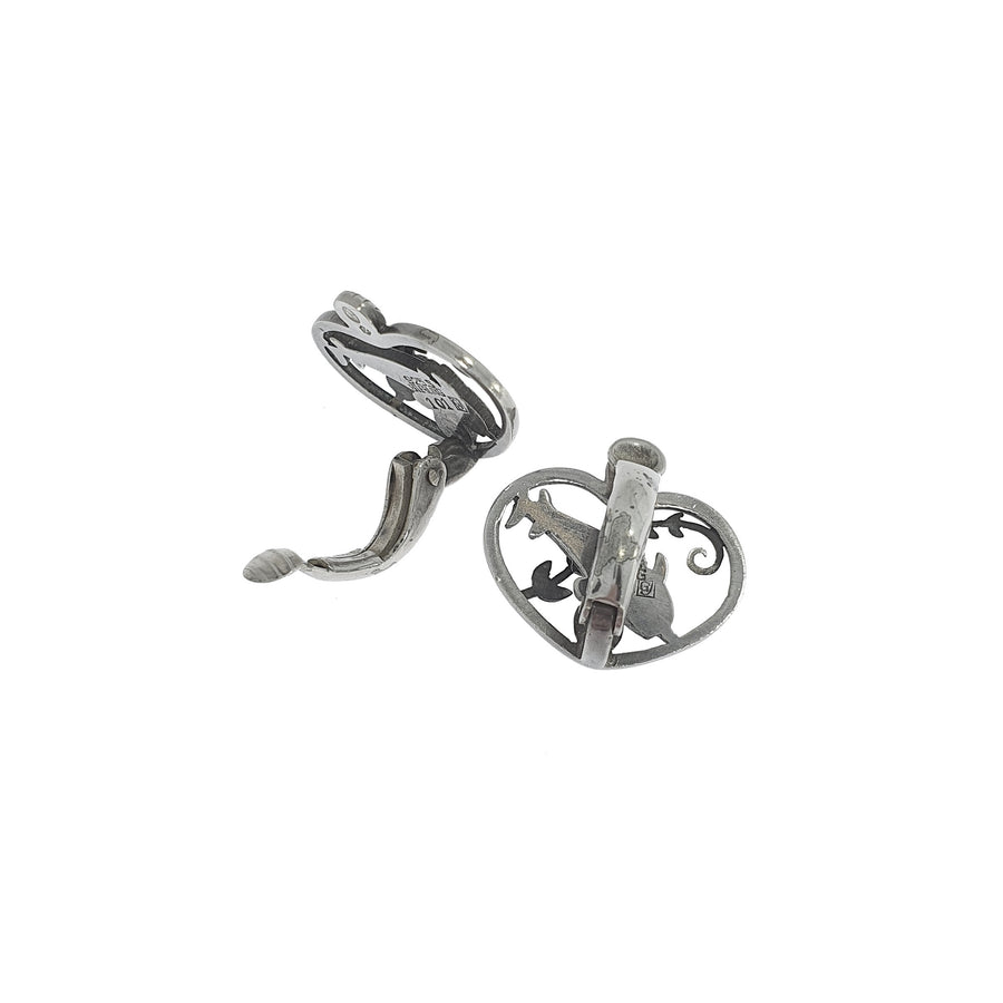 Georg Jensen Dolphin Earrings #101