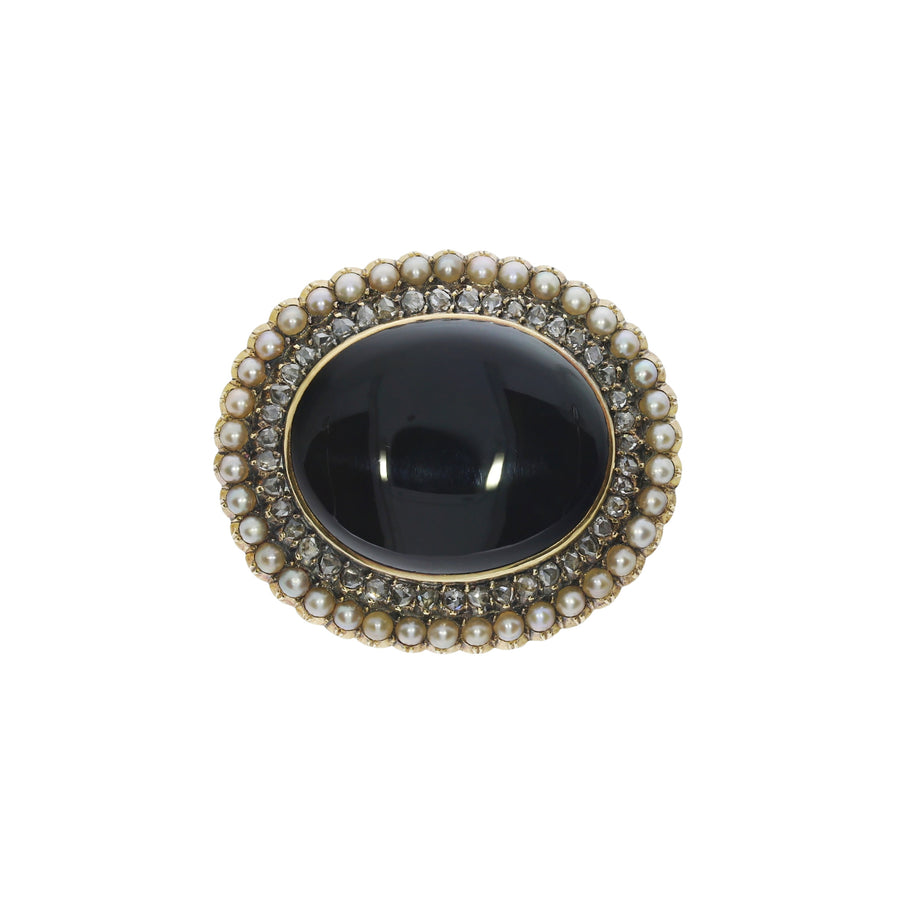 Victorian Mourning Brooch