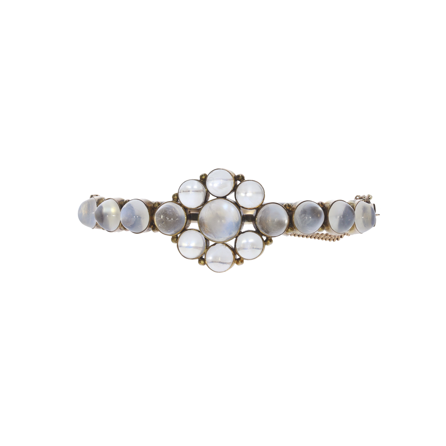 Antique Moonstone Bangle