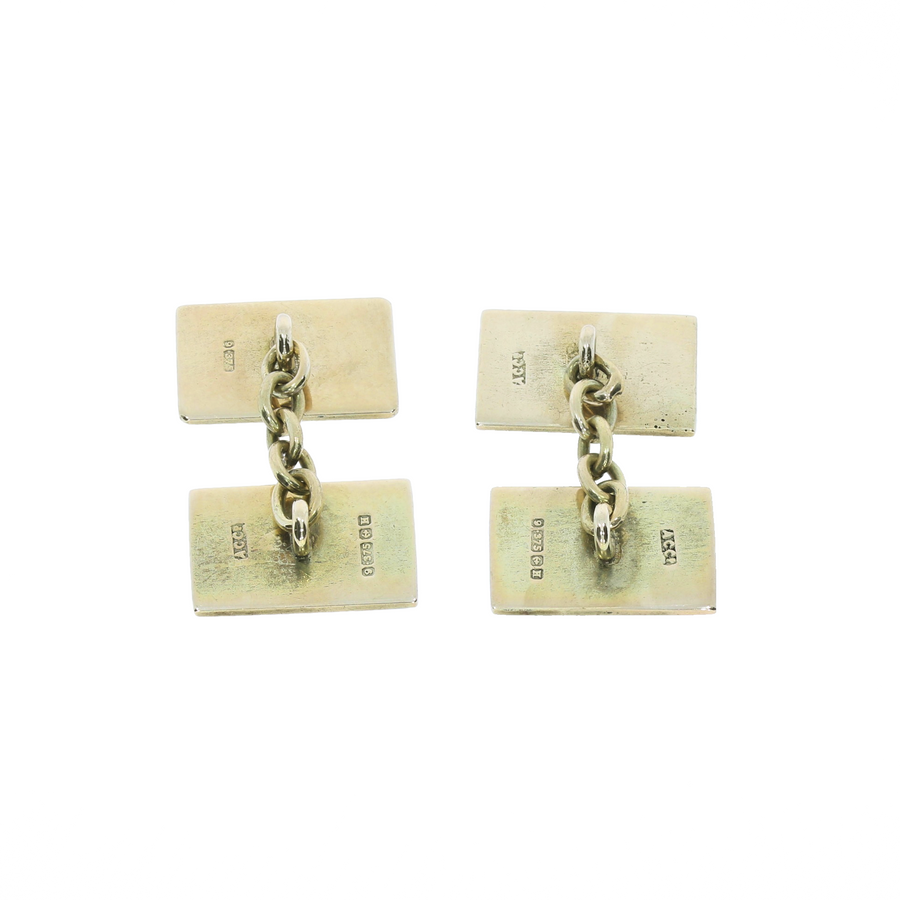 Enamel Terrier Cufflinks