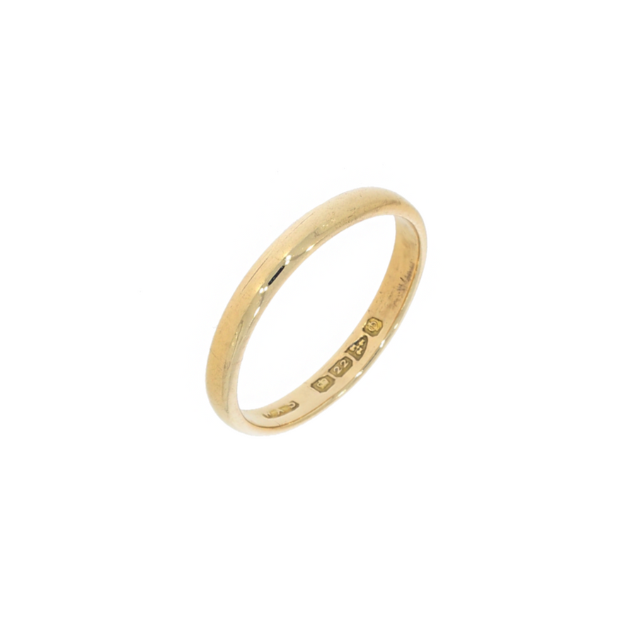 Chester 22ct Gold Band