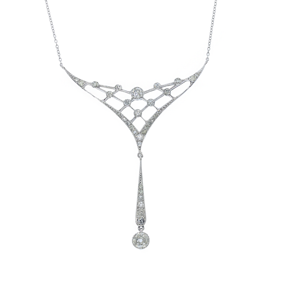 Edwardian Diamond Necklace
