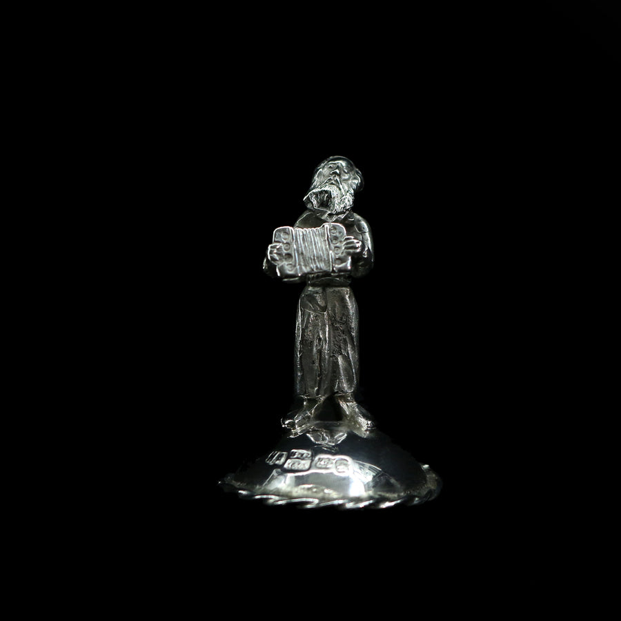 Antique Russian Silver Male Figurine
