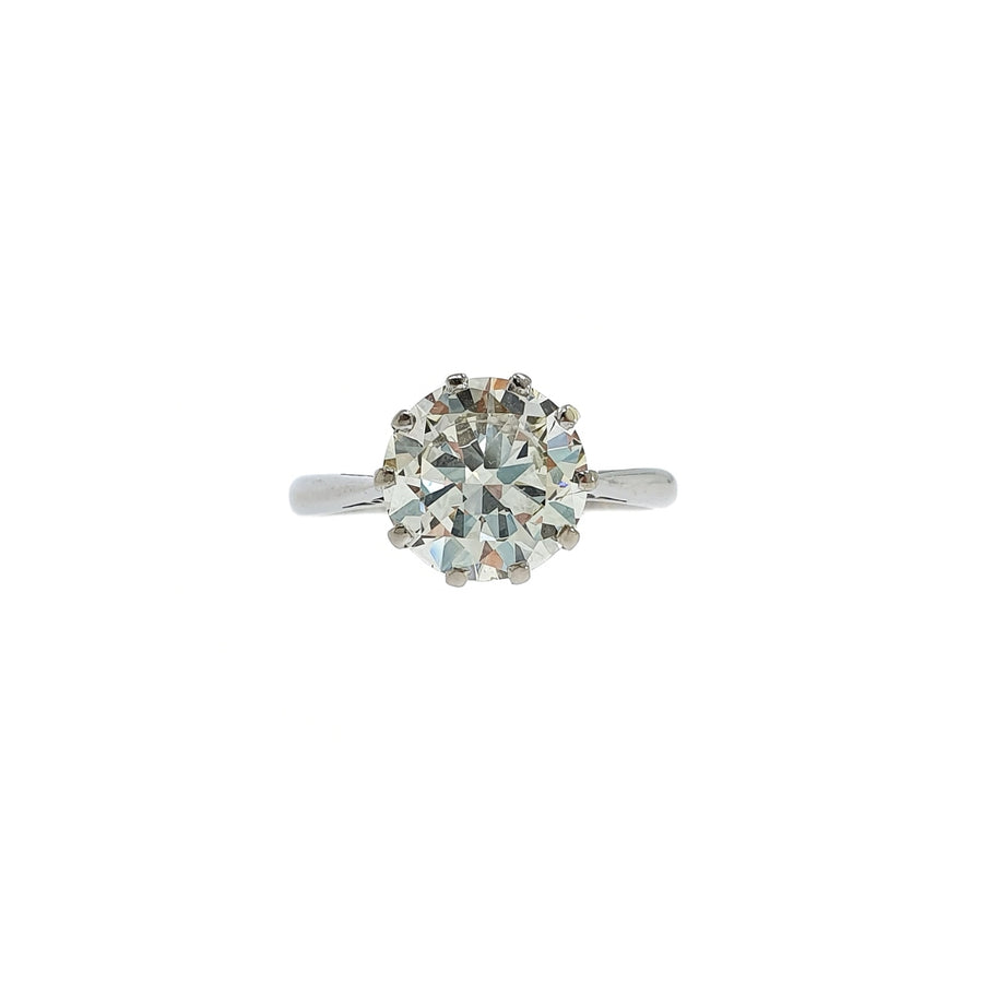 2.78ct Solitaire Diamond Ring
