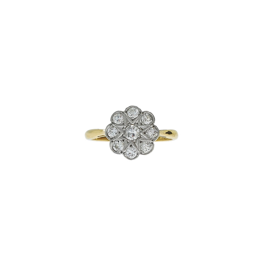 1920's Daisy Cluster Ring