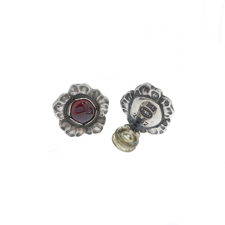 Georg Jensen Garnet Earrings #2002