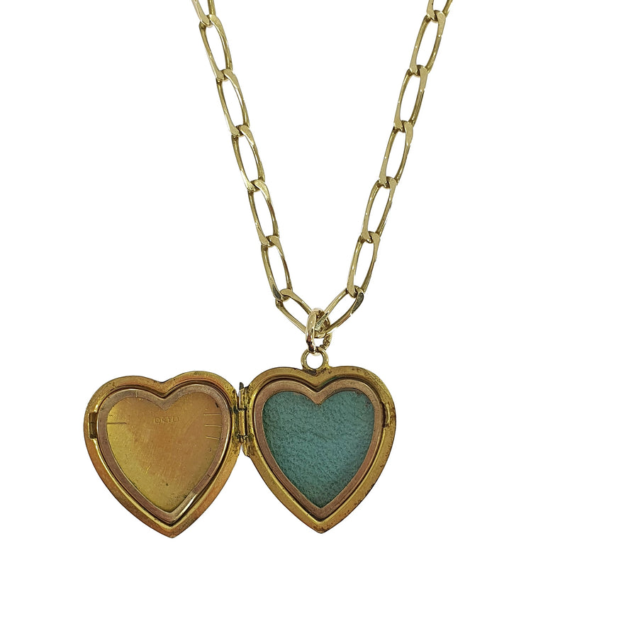 Chester Hallmark Gold Heart Locket