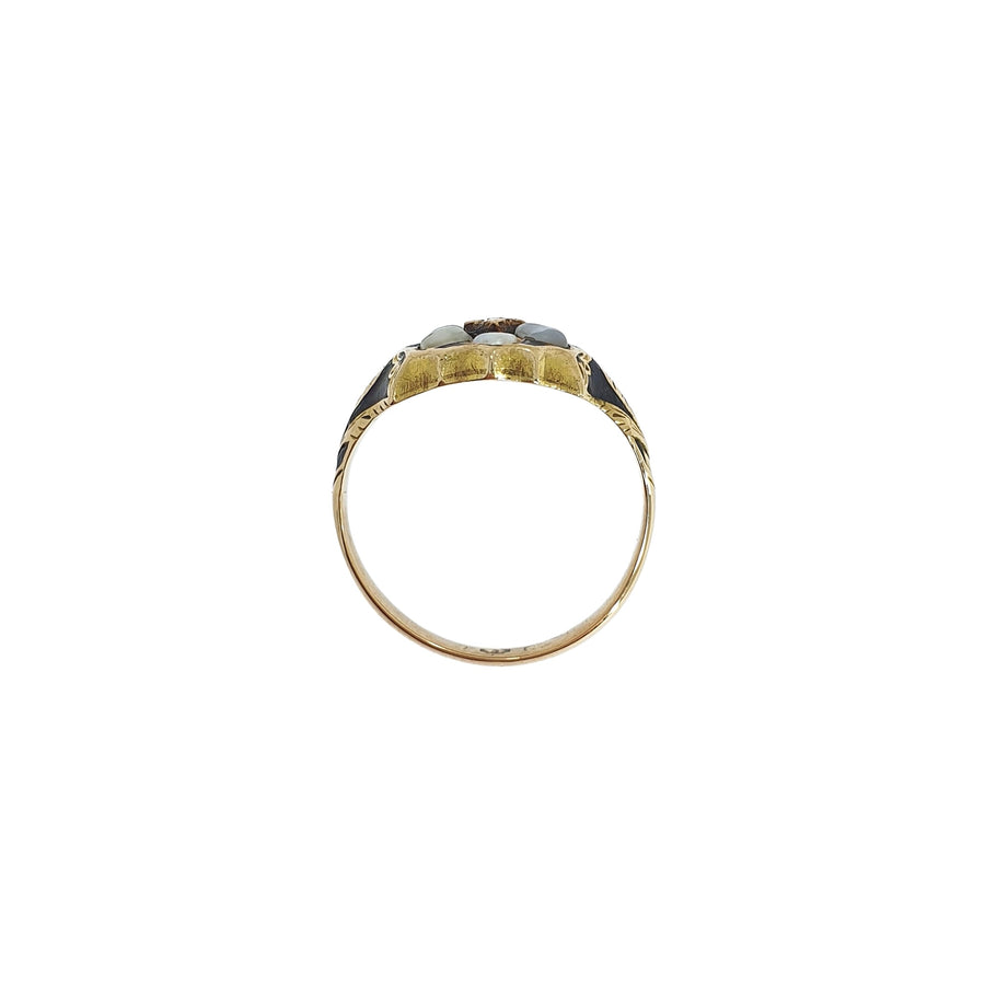 Antique Mourning Ring