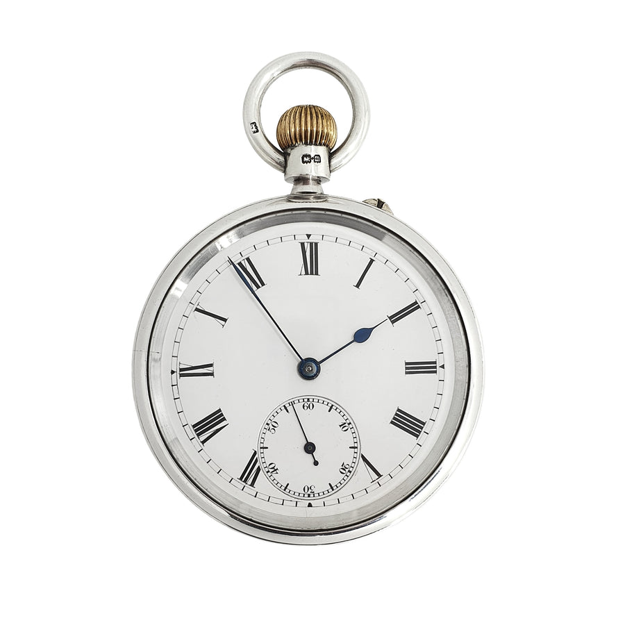 Lowe & Sons Silver Pocket Watch