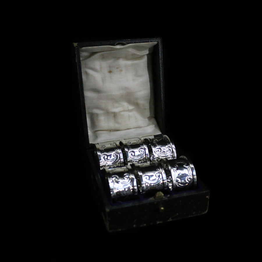 Arts & Crafts Napkin Ring Set
