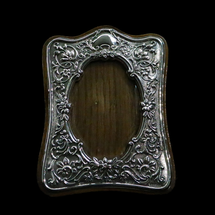 Antique Silver Photograph Frame