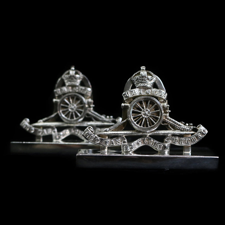 Silver Royal Artillery Place Holders